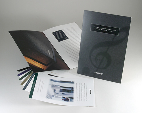 All-Product Brochure System for Bose