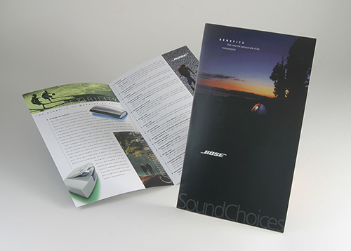 Employee Benefits Brochure for Bose HR