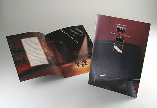 Product Brochure for Bose 901 LIfestyle Music System