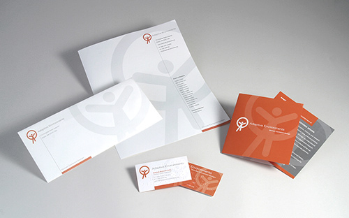 Corporate Identity System for The Institute for Human Centered Design