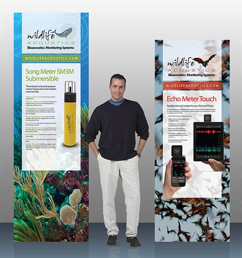 Conference Banners for Wildlife Acoustics 2012